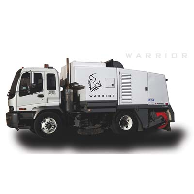 Wayne Warrior Mechanical Street Sweeper